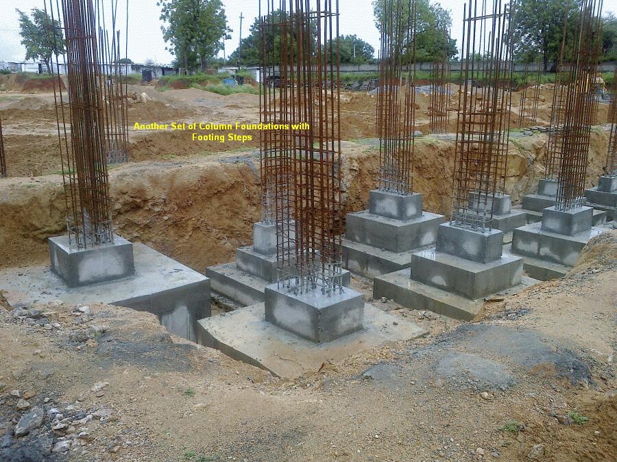 Honey Dew - Column Pedestal Steps