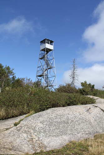 Poke-O-Moonshine fire tower