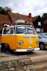 Folkestone, England - Local scenes - Combi van