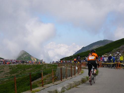 乗鞍ゴール地点から見る雲海