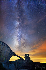 Peering Into Time (Willie Huang Photo) Tags: sky night stars landscape nationalpark arch scenic galaxy yosemite yosemitenationalpark celestial indianrock milkyway tioga earthandspace indianrockarch competition:astrophoto=2012