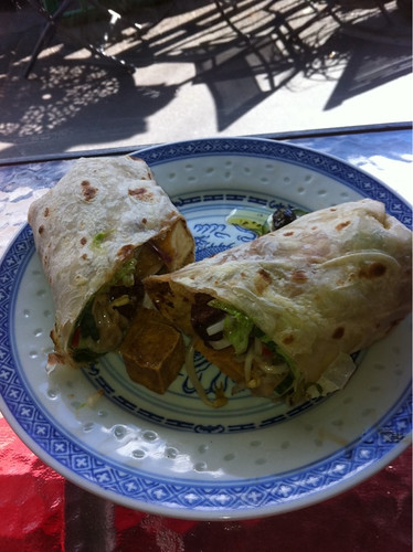 satay wrap thing