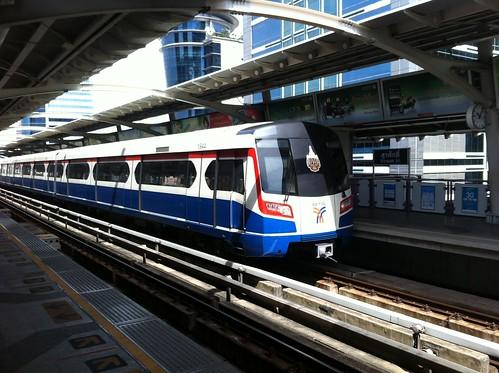 New Bangkok BTS trains