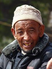 Delhi - Man from Ladakh (sharko333) Tags: voyage street travel portrait people india man asia asien delhi asie indien reise