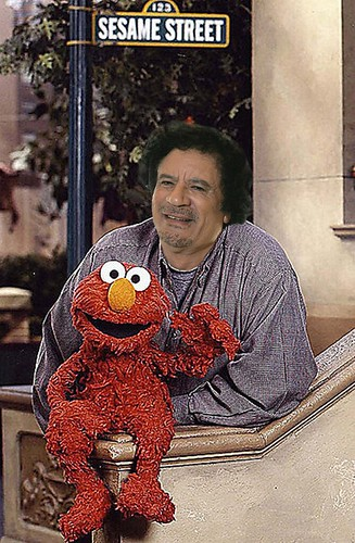 SESAME STREET by Colonel Flick