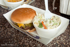 Green Chile Cheeseburger (kit) Tags: chile food newmexico restaurant burger hatch sparkys greenchile greenchilecheeseburger kitsweeney pineappleslaw greenchilecapitoloftheworld pineapplecoleslaw