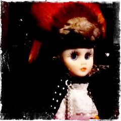 odd doll on The Due Return (Traci Bunkers) Tags: newmexico santafe artinstallation pirateship ipodtouch meowwolf hipstamatic kodotxgrizzledfilm wattslens theduereturn