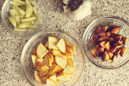 summer tempeh breakfast hash