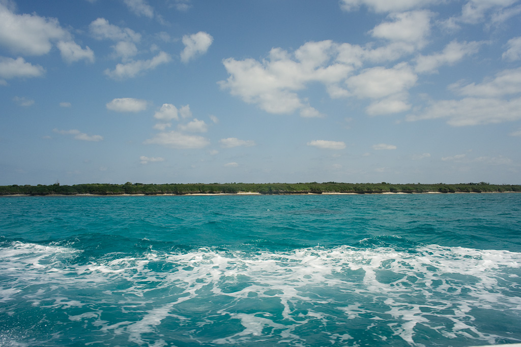 Taketomi Island (view from the ship)