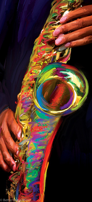 Miner Artwork - R&B Sax