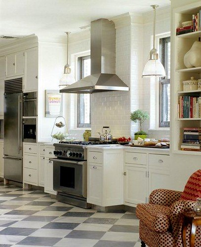 Grey Cork Flooring Kitchen: The Estate Of Things