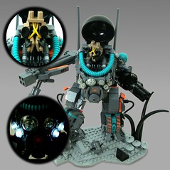 Feature Shot (aabbee 150) Tags: shot lego space alien hard 150 suit outer outerspace feature mecha mech foitsop aabbee