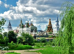 Lovely Summer Of The Year 1500 (Serge Freeman) Tags: city summer museum photoshop russia moscow towers
