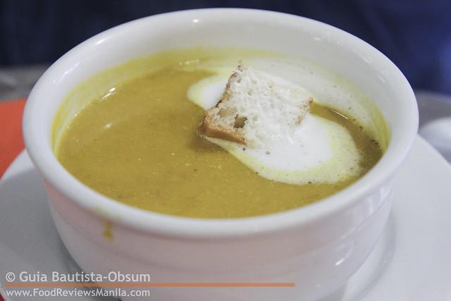 Cibo Crema Di Zucca Pancetta
