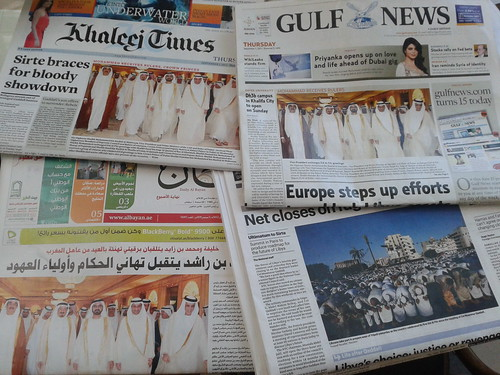 Newspapers in the United Arab Emirates