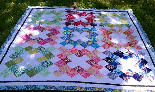 Pinked Charms Quilt by bryanhousequilts