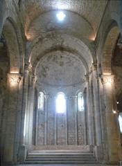 Monestir de Sant Pere de Galligants, Gerona, apse
