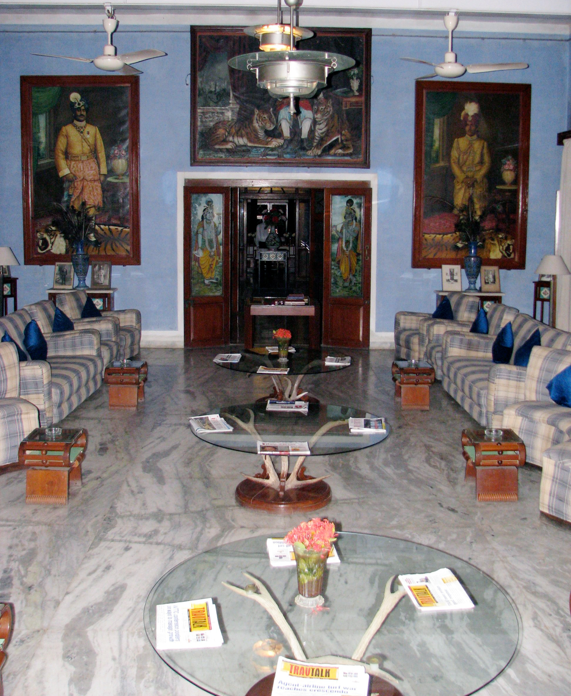 Reception Room at Maharajas Palace