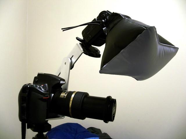 Lighting setup for macro 1