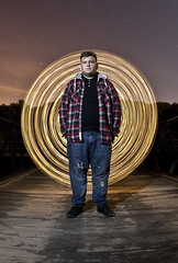 Light Painting Portrait ([Nocturne]) Tags: longexposure nightphotography light portrait lightpainting nocturne andi barlow spinner noctography wwwnoctographycouk