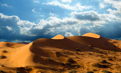 WAVE OF SANDS (SAUD ALRSHIAD) Tags: camera blue sky cloud hail photography golden sand nikon desert wave saudi arabia sands ksa saud saudia yalow السعودية سماء صحراء سعود kingdoom flickraward الرشيد nikonflickraward nikond7000 jobah alrshiad msawr سعودالرشيد saudalrshiad نفودجبة حائب سعودحمودالرشيد