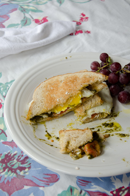 Brown Butter Fried Egg Sandwich