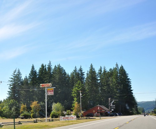 Bear Creek campground, Olympic National Park