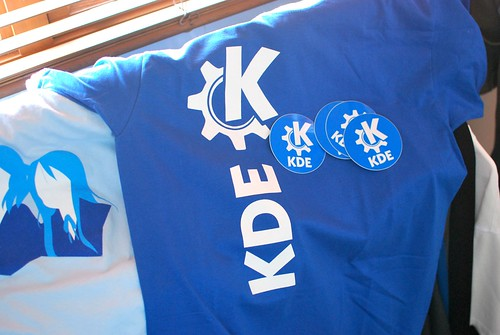 My KDE shirt arrived!