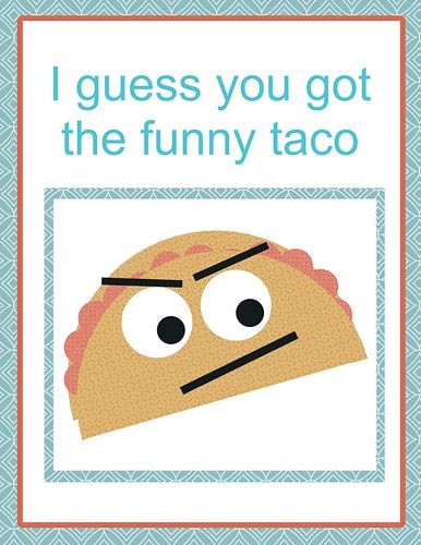 funny inappropriate taco getwellcard