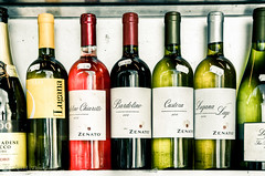 Cheap Bottles of Wine (SwitchMatrix) Tags: colors munich interesting nikon wine tamron cheap 2875mm d700