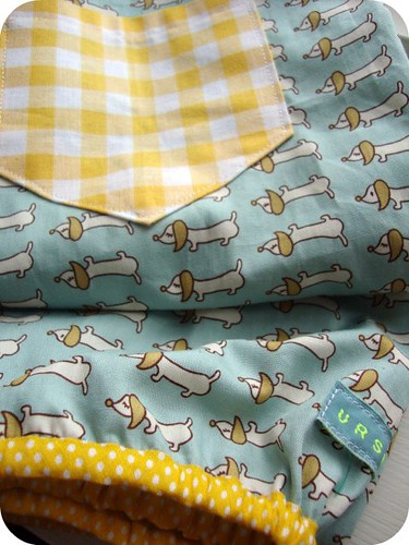 Dogs, dots and Gingham by lille-ursus