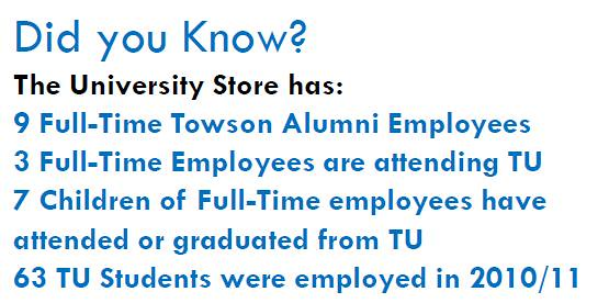 MBS Foreword Online - Towson University Bookstore - Annual Report
