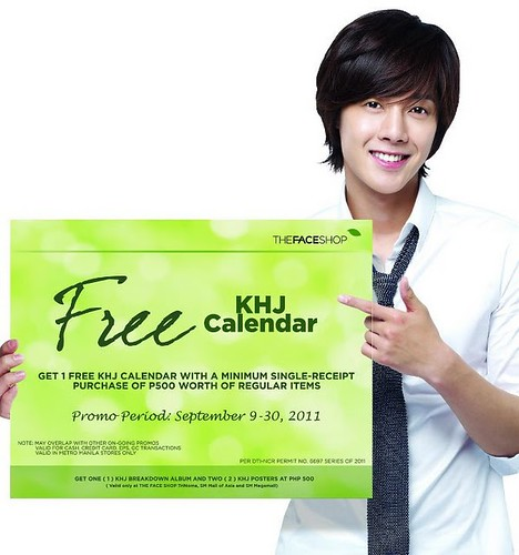 Kim Hyun Joong TFS Promo in Philippines 9 - 30 Sept 2011