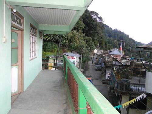 Maneybhanjan from Jibonda's lodge . .