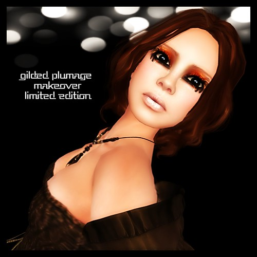 Gilded Plumage- Limited Edition L'eau Makeover by Mocksoup