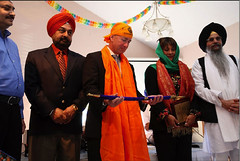 Indiana Governor at Sikh Temple (Indianapolis, IN) (The Pluralism Project) Tags: sikhism anewera