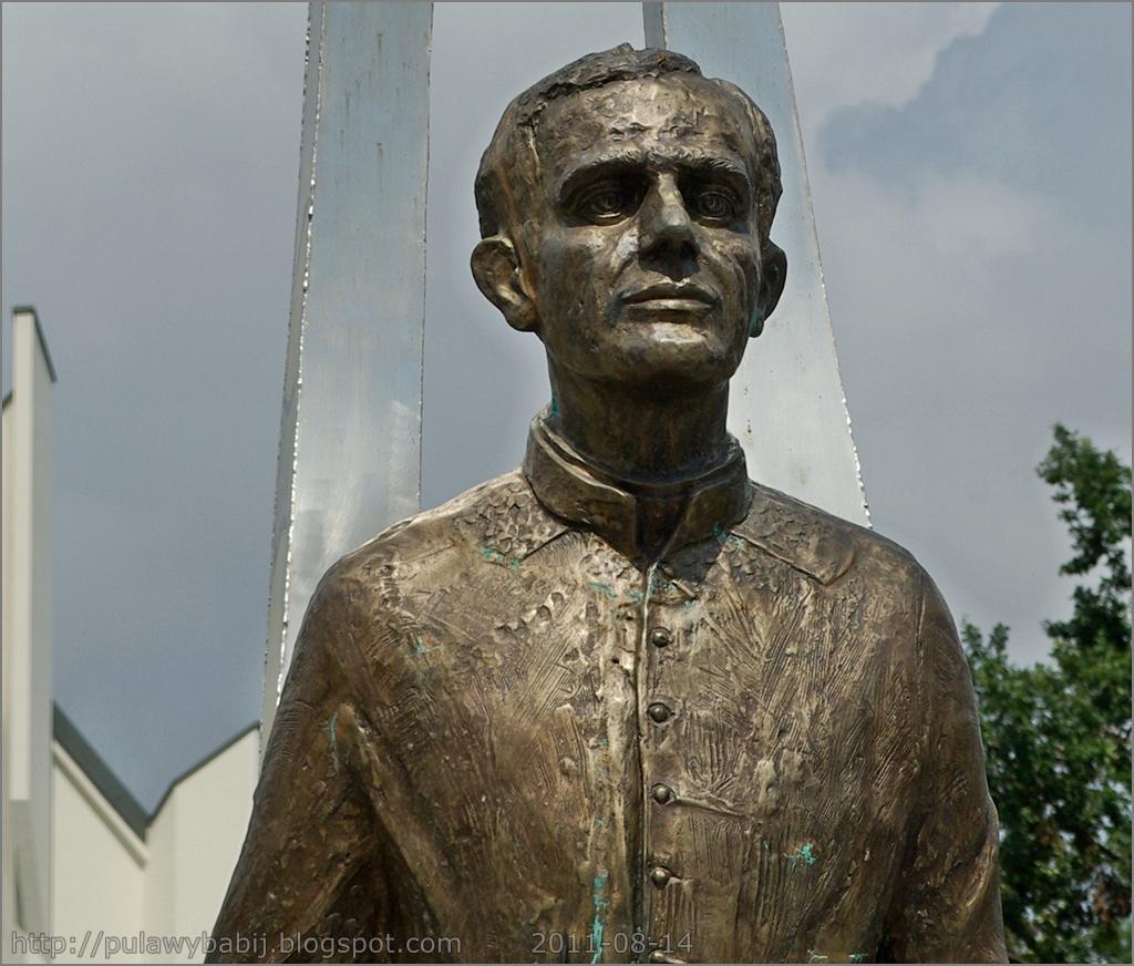 Puławy pomnik ks. Jerzego Popiełuszki