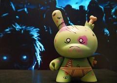 green zombie 005 (danimaniacs) Tags: green toy zombie vinyl kidrobot plastic dunny huckgee cmwdgreen