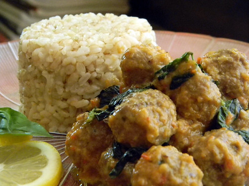 Meatballs in Three Lemony Leaves 5