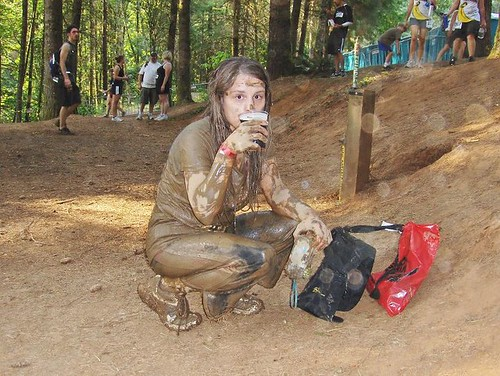 Mud, sweat and beer.