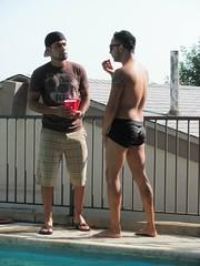 Pool Party (CAHairyBear) Tags: shirtless man men uomo mann hombre manner homme hom braghettoni