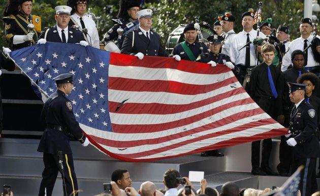 ground-zero-9/11 flag