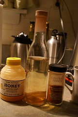 255/365 Cold home remedy (honey, apple cider v...