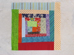 do. Good stitches block for Grace - September