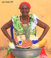 Fruit Vendor Cartagena Colombia