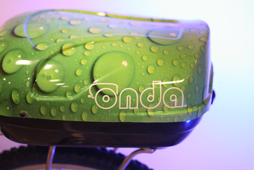 Onda hard shell bike trunk and trailer