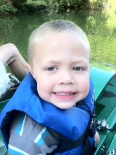 kayden paddleboating