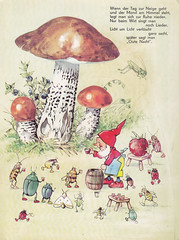 In Brummelstadt / Bild 5 (micky the pixel) Tags: mushroom bug buch book dwarf kabouter livre kfer pilz zwerg birkenpilz kinderbuch bilderbuch fritzbaumgarten wichtelmann inbrummelstadt pestalozziverlag