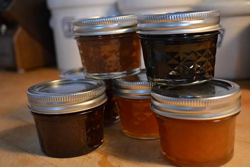 203 jars of jam