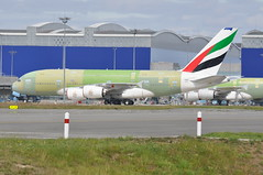 F-WWAB / A6-E?? A380861 MSN 098 Emirates (DigitalAirliners.com) Tags: uae emirates ek msn tls 098 lfbo fwwab a380861